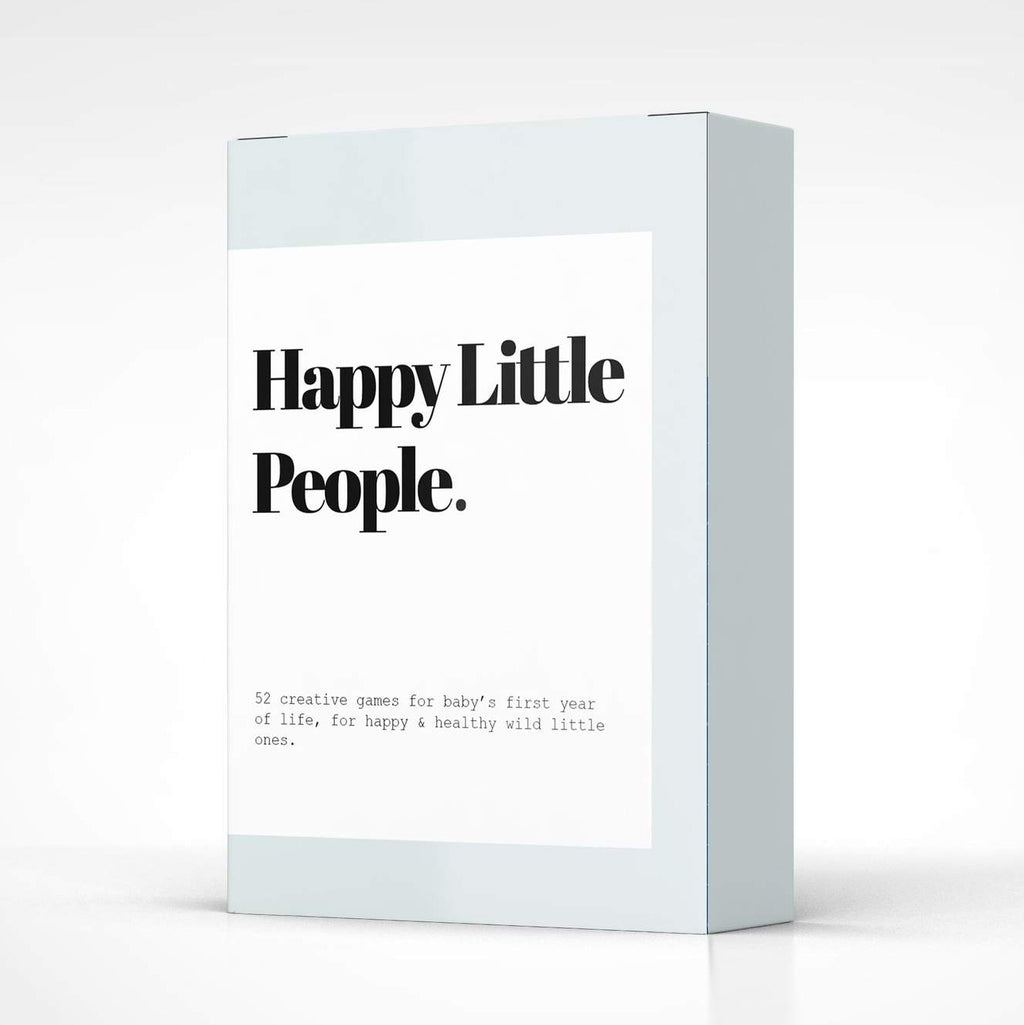 Happy Little People™ Card Deck: The First Year