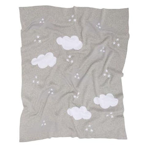 Kenzi Living Clouds Baby Blanket - Grey