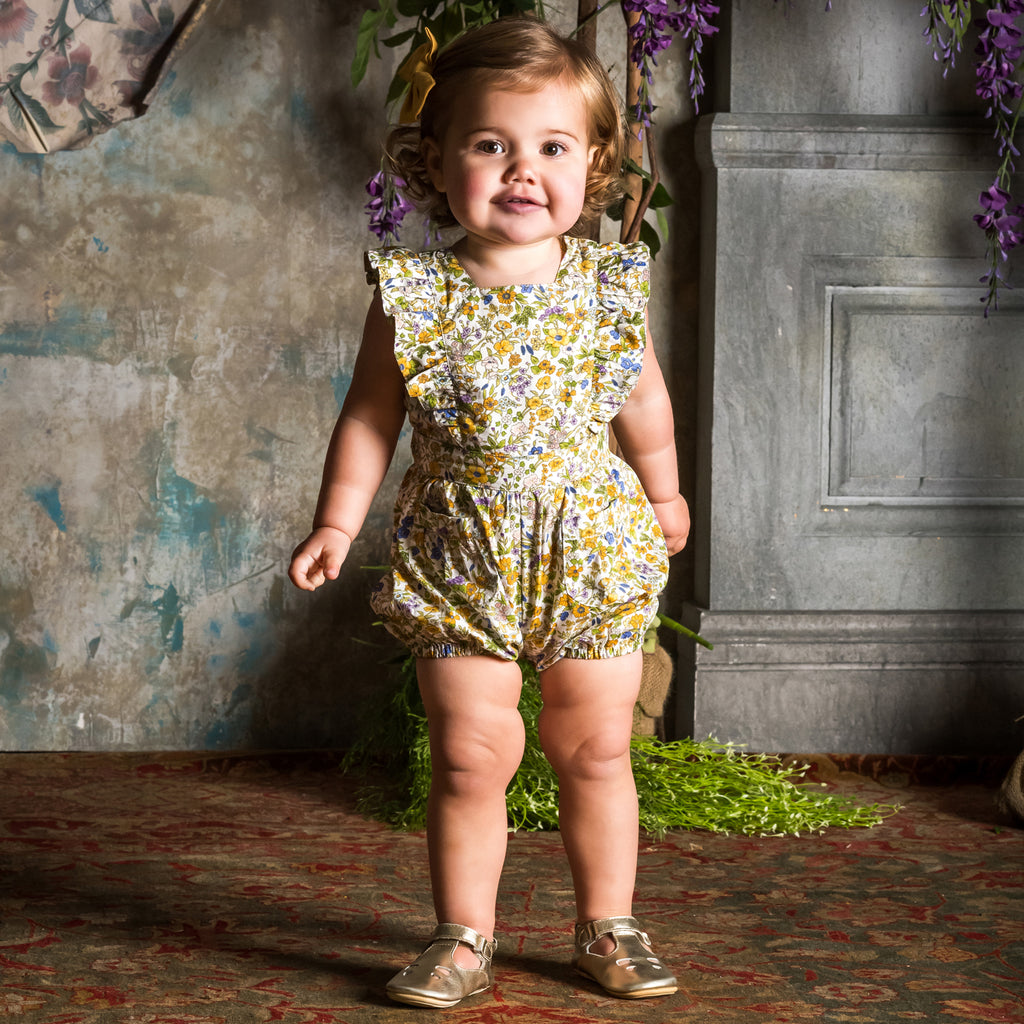 Rock Your Baby Spring Florals Sunsuit
