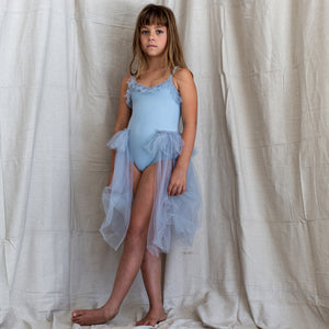 Bella & Lace Elanor Leotard- Blue Moon
