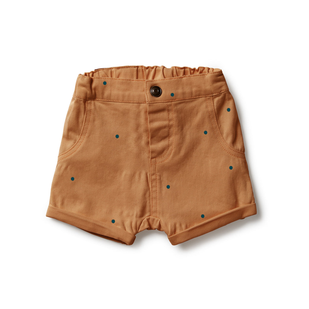 Wilson & Frenchy Spot Stretch Drill Rolled Shorts