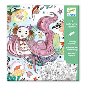 Djeco Under the Sea Colouring Surprise