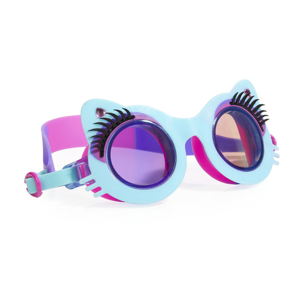Bling2o Swim Goggles - Pawdry Hepburn - Mittens Blue