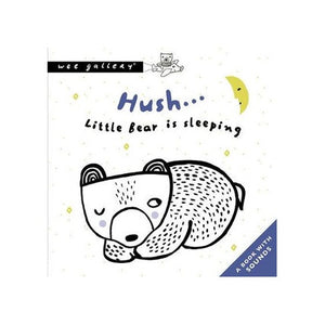 Hush... Little Bear Is Sleeping (Wee Gallery sound book)
