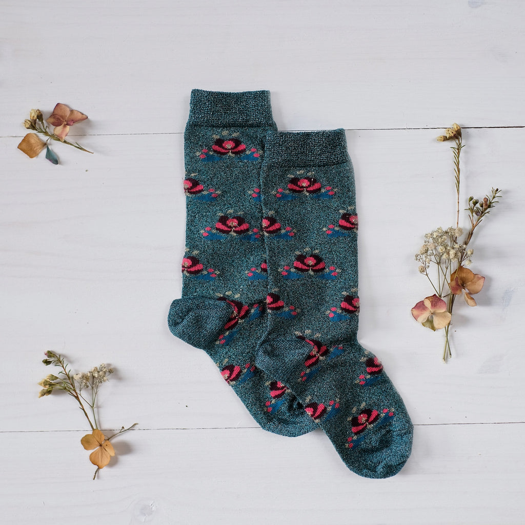 Louise Misha Socks Zokni Peacock