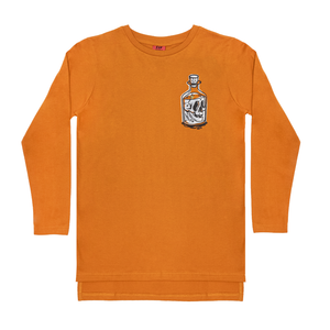 Band Of Boys BANDITS Bottle Step Hem Tee