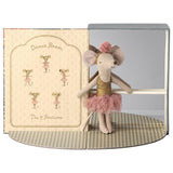 PRE-ORDER Maileg Dance Room w Big Sister Mouse