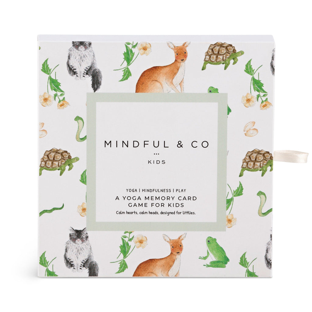 Mindful & Co Yoga Memory Card Game