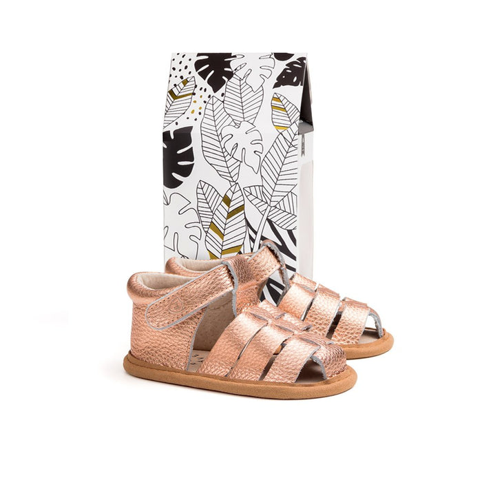 Pretty Brave Rio Sandal - Rose Gold
