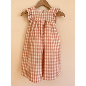 Pretty Wild Tia Dress - Pink Linen