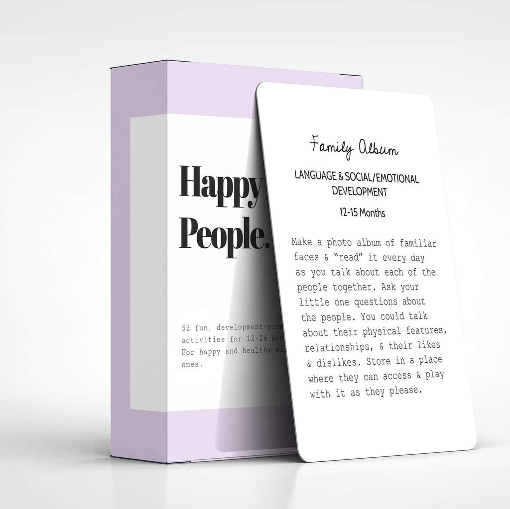 Happy Little People™ Card Deck: The Second Year