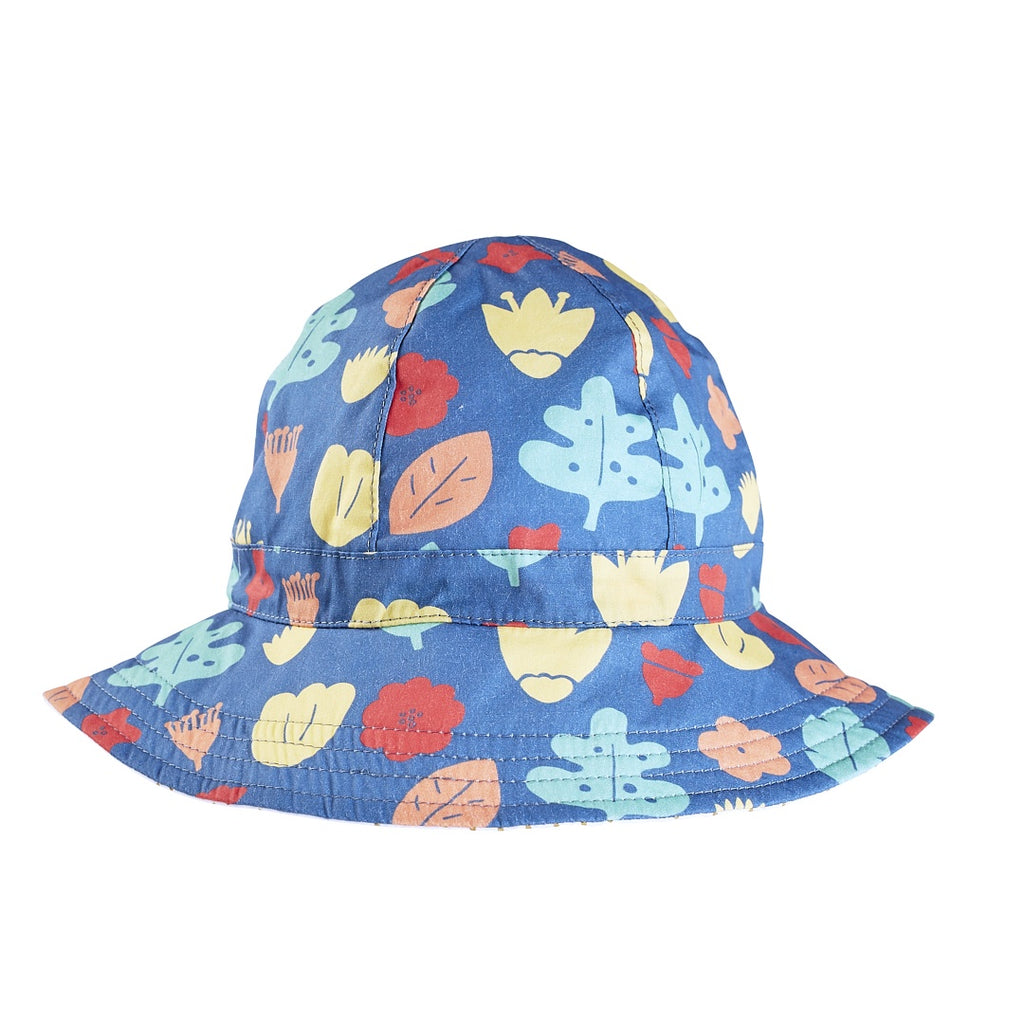 Acorn Kids Floppy Hat - Falling Leaves