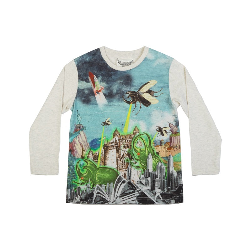 Paper Wings Classic Long Sleeve T-shirt - Bug Attack