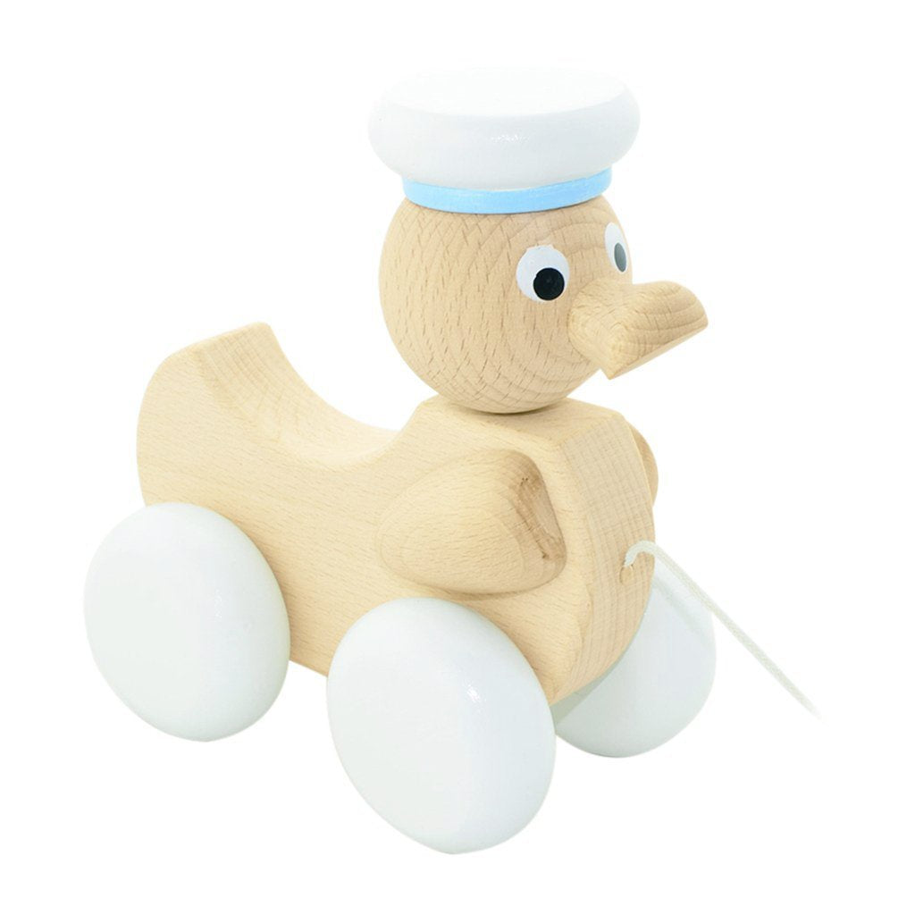 Wooden Pull Along Toy Duck - Austin