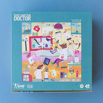 Londji Puzzle I Want To Be A Doctor