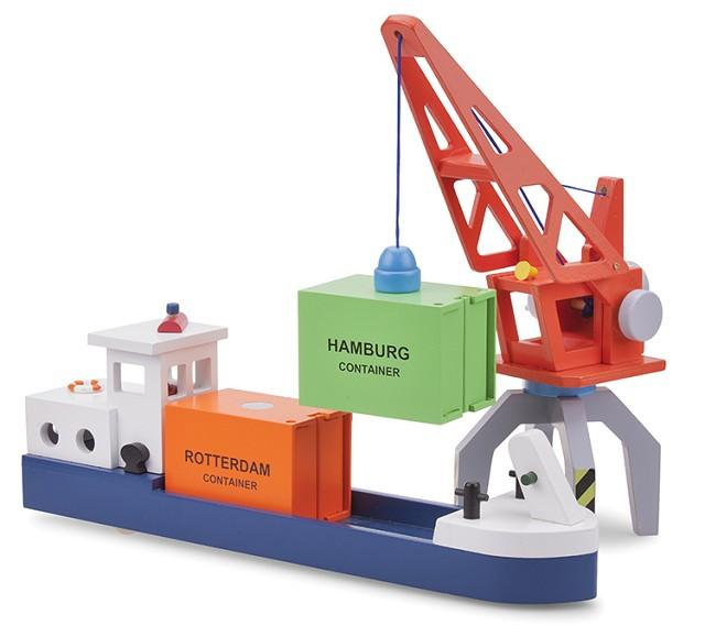 New Classic Toys Container Crane
