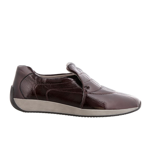 ARA Bordeaux lak slip on,