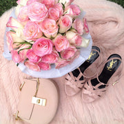 LIGHT PINK FRESH BLOOMS White Box (VIC, Australia Only)