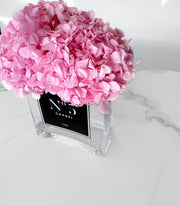 "PRE-ORDER: Personalised Glass Vase - ""No. Edition"" (Available Worldwide)"