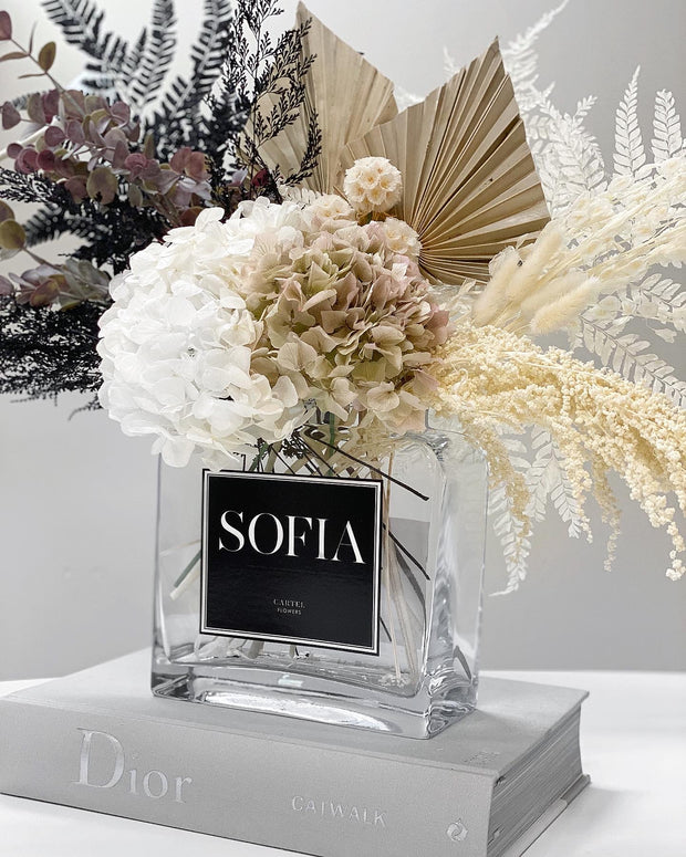 Forever Arrangement + Vase | 'Modern Mix'