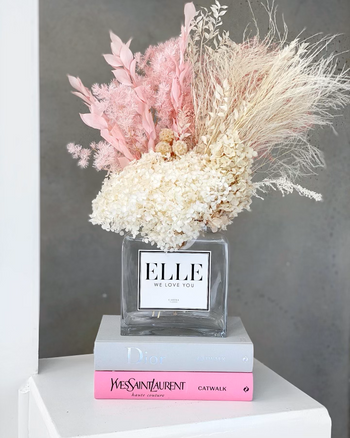 Forever Arrangement + Vase | 'Neutral Pink'