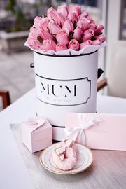 PINK FRESH BLOOMS White Box (VIC, Australia Only)
