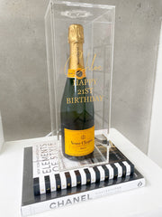 Acrylic Scotch Wine Champagne Box