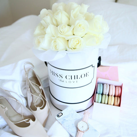 PREMIUM WHITE BLOOMS White Box
