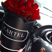 RED FRESH BLOOMS Black Box (VIC, Australia Only)