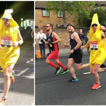 How to run a marathon in 02:47:41, dressed as a banana.