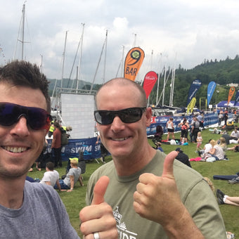 Andy Blow's race report of the 2016 Great North Swim in the UK