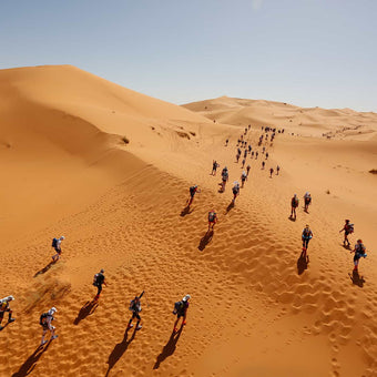 How Tom Evans came 3rd at the Marathon Des Sables.