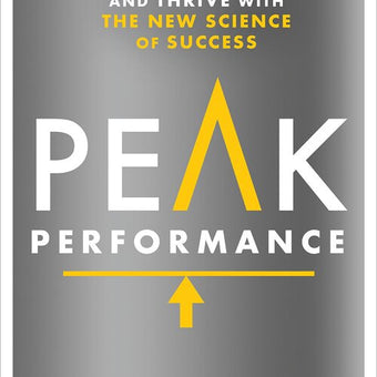 Peak Performance book