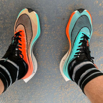 Andy Blow's Nike Vaporfly Trainers