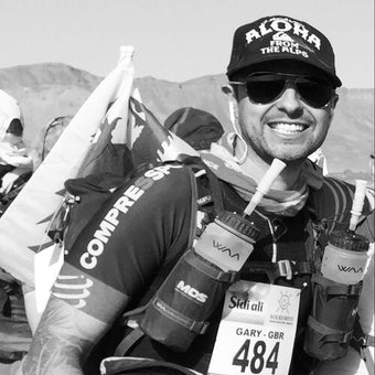 Gary Howells at Marathon Des Sables