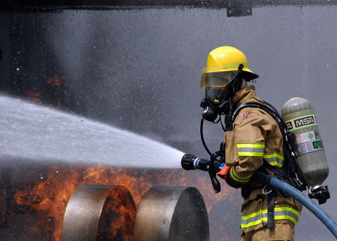 Dehydration is dangerous for firefighters