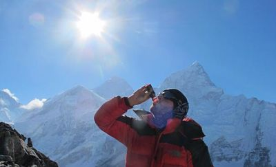 Drinking at altitude