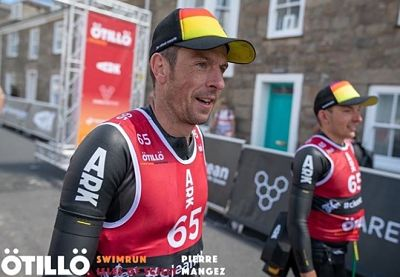 Andy Blow and James Phillips at Otillo Swimrun