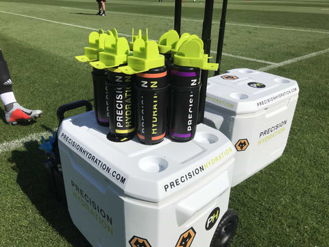 Precision Hydration Wolves drinks
