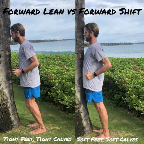 Forward lean vs Forward shift