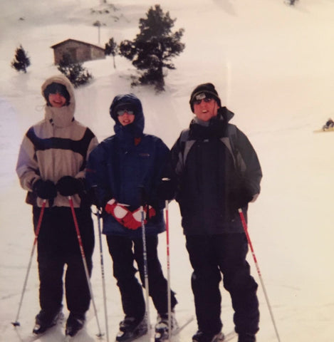The Colleys out skiing