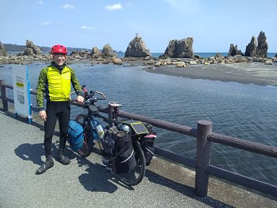Ron Gordon on Japan bike trip
