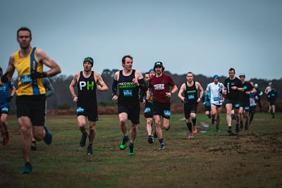 Runners at Maverick New Forest
