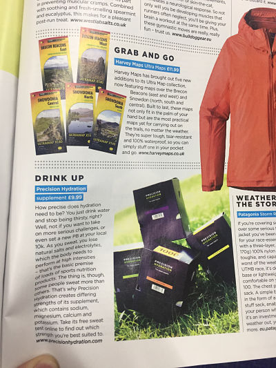 Trail Running Magazine Precision Hydration Review