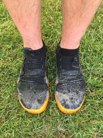 Vivobarefoot Primus Trail SG Swimrun Shoe review muddy