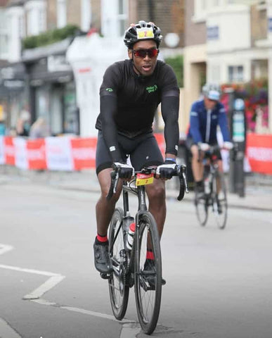 Lemar during ride london