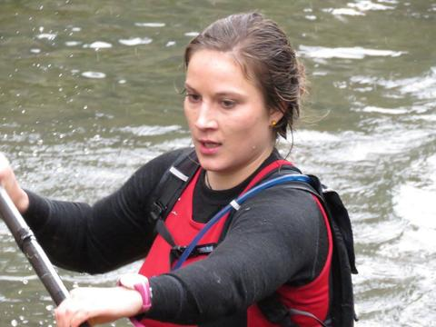 Lena Kraus talks us through her podium performance at the Devizes to Westminster Canoe Race