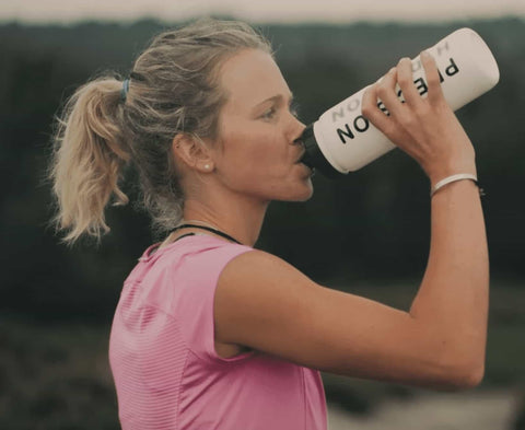 Lucy bartholomew trail runner drinks precision hydration