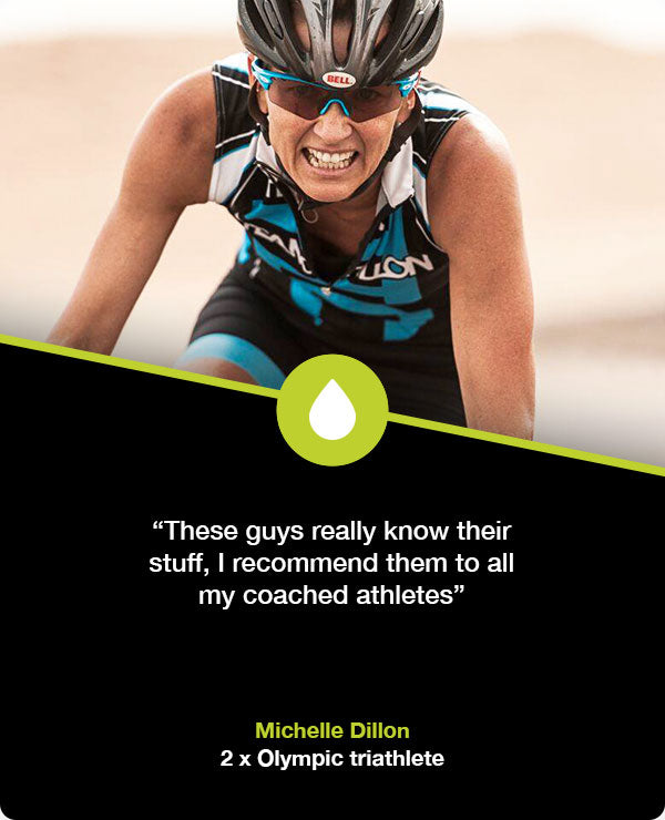 Michelle Dillon electrolyte supplements