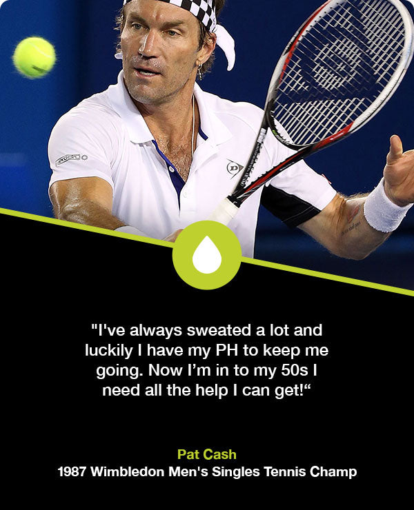 Pat Cash hydration for tennis